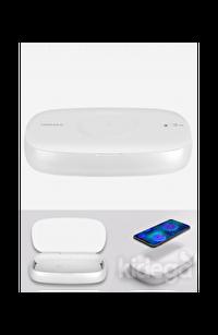 Momax Q Power UV-Box Kablosuz Şarj Dezenfeksiyon Kutusu 10W Beyaz QU1W
