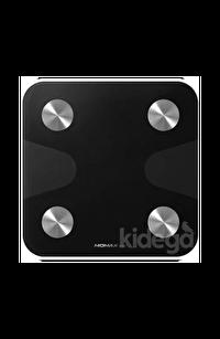 Momax Lite Tracker Iot Yağ Ölçer Foksiyonlu Akıllı Tartı Siyah