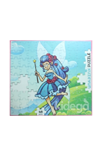 Mavi Peri -  48 Parça Puzzle