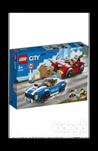 Lego City Polis Otobanda Tutuklama