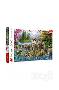 Trefl Puzzle Lupine Family 1000 Parça