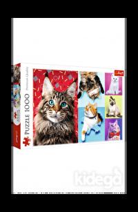 Trefl Puzzle Happy Cats 1000 Parça