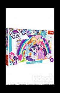 Trefl Puzzle My Little Pony Happy Ponies 24 Parça
