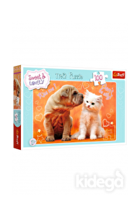 Trefl Puzzle Hugs And Kisses 100 Parça