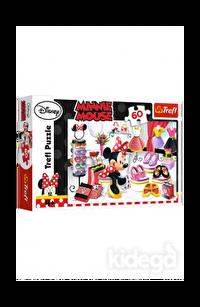 Trefl Puzzle Minnie Crazy Shopping 60 Parça
