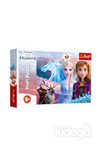 Trefl Puzzle Frozen II The Courage Of The Sisters 30 Parça