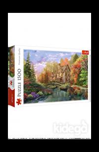 Trefl Puzzle Cottage By The Lake 1500 Parça