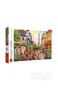 Trefl Puzzle Charming Paris 1500 Parça