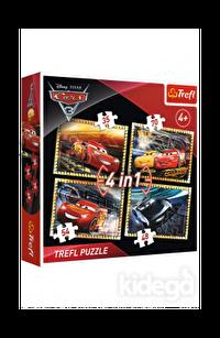 Trefl Puzzle Cars 3 Ready To Race 4'lü 35+48+54+70 Parça