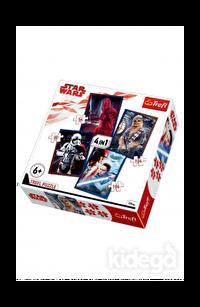 Trefl Puzzle Star Wars Episode VIII Ready for Battle 4'lü 35+48+54+70 Parça