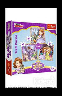 Trefl Puzzle Sofia And Her Friends 3'lü 20+36+50 Parça
