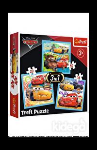 Trefl Puzzle Cars 3 Preparations For The Race 20+36+50 Parça