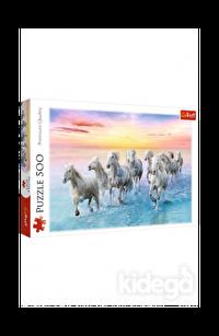 Trefl Puzzle Galloping White Horses 500 Parça