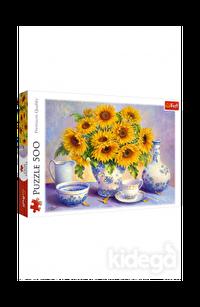 Trefl Puzzle Sunflowers DDFA 500 Parça