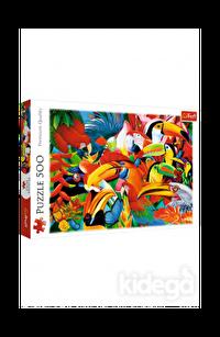 Trefl Puzzle Colourful Birds 500 Parça