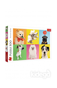 Trefl Puzzle Dogs 500 Parça