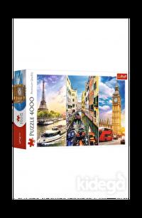 Trefl Puzzle Trip Around Europe 4000 Parça