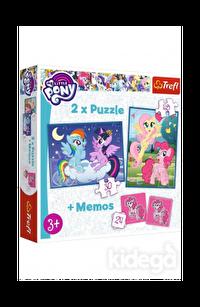 Trefl Puzzle My Little Pony Friendship is Magic 2'li 30+48 Parça