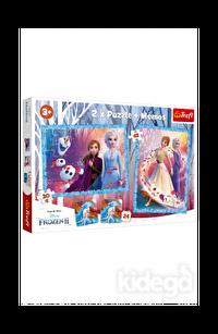 Trefl Puzzle Frozen II A Mysterious Land 2'li 30+48 Parça