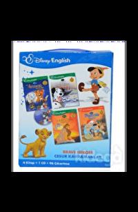 Disney English Cesur Kahramanlar 4 Kitap-1 Cd-96 Çıkartma