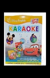 Disney Lets Sing Karaoke Seti Birlikte Şarkı Söyleyelim-3 Kitap-1 Dvd-3 Cd