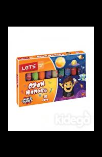 Lets 10 Renk Oyun Hamuru Jelatinli L8110