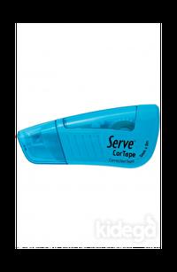 Serve Cortape Şerit Silici 5 mm x 8 mt Fosforlu Mavi
