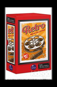 Lilart Puzzle Retro Movie Collection