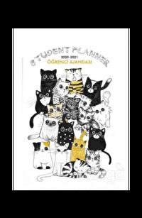 Akademi Çocuk Öğrenci Ajandası 2020-2021 Street Cats 3072