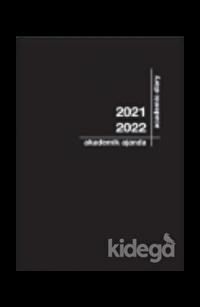 Akademi Çocuk 2021-2022 Akademik Ajanda 3079 Siyah