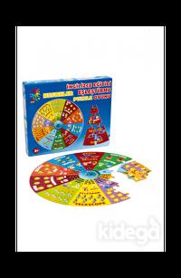 İngilizce Eğitici Eşleştirme Puzzle Oyunu