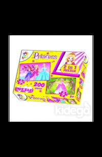 Prenses 2in 1 200 Parça Puzzle