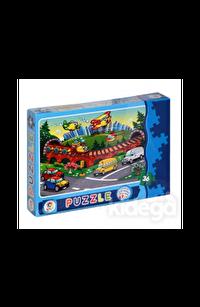 Taşıtlar 36 Parça Puzzle