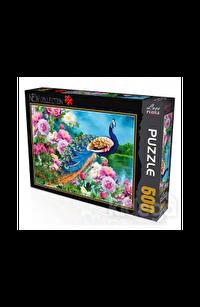 Tavus Kuşu 500 Parça Puzzle