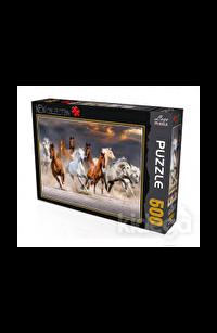 Atlar 500 Parça Puzzle