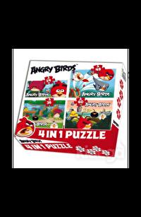 Angry Birds 4 farklı Puzzle 24 36 48 60
