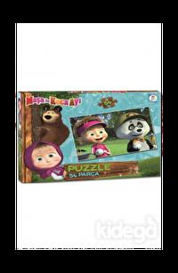 Laço Kids Masha Koca Ayı 54 Parça Puzzle