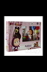 Laço Kids Masha Koca Ayı 70 Parça Puzzle
