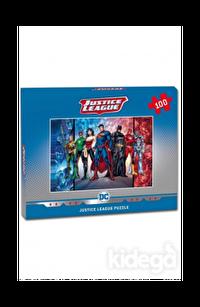 Laço Kids Justice Frame 100 Parça Kutulu Puzzle