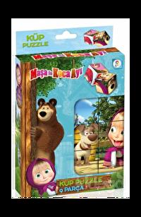 Laço Kids Masha Koca Ayı Küp Puzzle