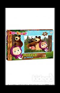 Laço Kids Masha Koca Ayı 30 Parça Puzzle