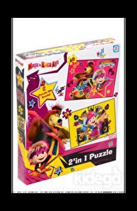 Laço Kids Masha Koca Ayı 2'li Puzzle