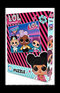 Laço Kids 100 Parça Puzzle 2