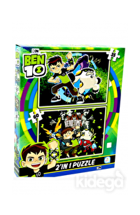 Laço Kids Ben10 2'li Puzzle