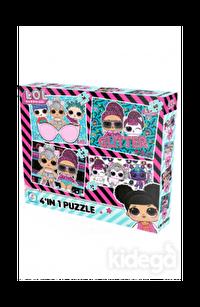 L.O.L 4'lü Puzzle