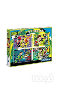 Laço Kids Ben10 4'lü Puzzle