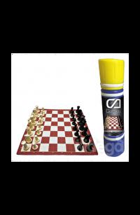 SATRANÇ Renkli Satranç Takımı (CA.10009)