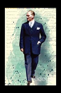 Atatürk 6 - Yumuşak Kapak Defter