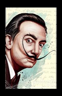 Salvador Dali - Yumuşak Kapak Defter