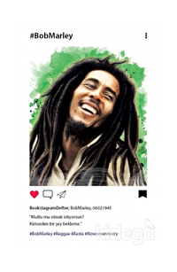 Bob Marley - Bookstagram Defter
